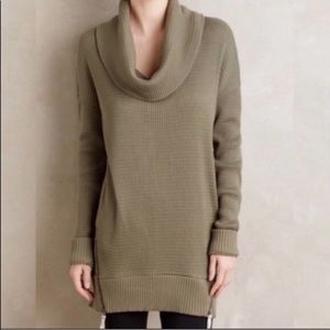 Anthropologie Pure Good Cowl Neck Tunic Size S